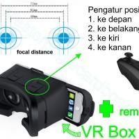 Virtual 3D Reality Glasses VR Box Smartphone (PAKET)