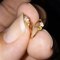 Anting Bayi Swarovski emas 24 karat gold anting emas99 Berkualitas