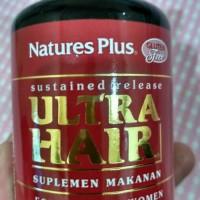 natures plus/ULTRA HAIR/rambut rontok/botak/pria dan wanita/60