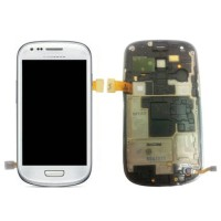 LCD SAMSUNG i8190 GALAXY S3 MINI + T/S BLACK BLUE WHITE ORI