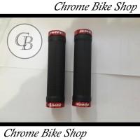 Handgrip Grip Handflat Handfat Sepeda Avand Dengan Tutup