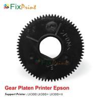 Gear Platen Printer Dot Matrix Epson LX-300 LX300 LX300+ LX300+II New