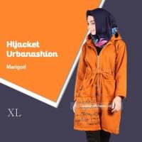 Hijacket Urbanashion Marigold Original SIZE XXL /Gamis Syari/ Cardigan