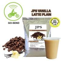 Bubuk Minuman Vanilla Latte Plain Powder JPS Tanpa Gula