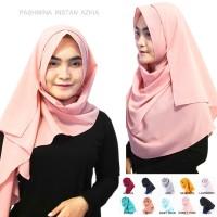 Jilbab Instan Hijab Khimar Pastan Pashmina Instan Kerudung Azkia