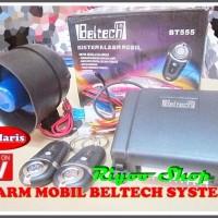 Alarm Mobil Merek Beltech Dengan Remote Model Avanza Dapat Dipasang