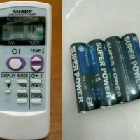 Remote Remot AC Sharp ion Plasmacluster