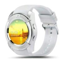 Smartwatch V8 GSM Suport Sim Card Memori Card Fitur Lebih Lengkap