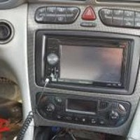 Frame Audio Mercy C-Class W203 2000 2004 Panel Audio Double din Merc