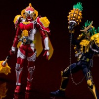 Premium Bandai SHF Limited Kamen Rider Gaim Pine Arms Baron Mango Arms