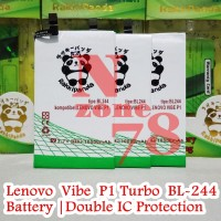 Baterai Lenovo Vibe P1 Turbo P1A42 BL244 Double IC Protection