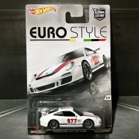 Hot Wheels Porsche 911 GT3 RS Euro Style Series Car Culture Ban Karet