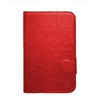 FS Marvel Flip Cover Samsung Tab Note N8000 10 Inch - Merah
