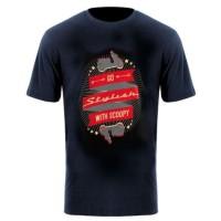 Kaos Honda Scoopy Go T-Shirt Black - TS682