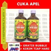 Cuka Apel Nutrigreat 100% Alami - 300ml - Apple Cider Vinegar