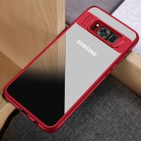 CLEAR AUTO FOCUS Samsung Galaxy S7 Flat soft case back cover casing hp