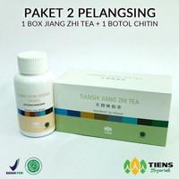PRODUK LARIS Obat Pelangsing Tubuh Herbal Tiens Jiang Zhi Tea MURAH ME