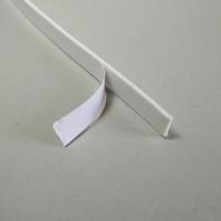Harga single tape lem satu sisi putih tebal 3mm lebar | antitipu.com