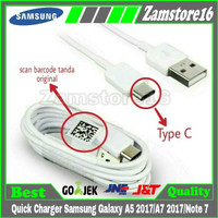 Quick Charger carger cable cabel ori Samsung Galaxy A5 2017 A7 Note 7