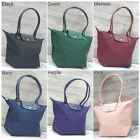 LongChamp Neo Long Handle Nylon Hand / Tote Bag / Tas Wanita Murah
