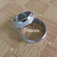cincin tunangan , engagement ring, wedding ring stainless steel 316L