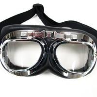 GL-Kacamata Goggle goggles retro vintage buat biker motor harley vespa