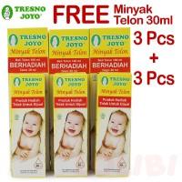 Tresno Joyo Minyak Telon 100ml + FREE Minyak Telon 30ml - 3 Pcs