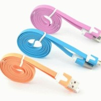 Kabel Data USB Universal V8 Warna-Warni untuk Ponsel Samsung / HTC / Z