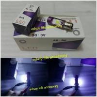 Lampu utama headlamp LED motor bebek matic pnp ACDC mio beat soul gt T