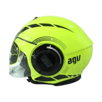 Helm Half Face AGV Fluid equalizer - Yellow