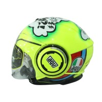 Helm Half Face AGV Fluid TO Misano