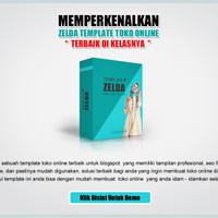 EXCLUSIVE Zelda Template Toko Online Blogspot