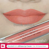 EXCLUSIVE WARDAH EXCLUSIVE MATTE LIP CREAM No.5 Speachless TERJAMIN