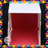 Photo Studio Mini 1 Button dengan LED dan 4PCS Background Size S