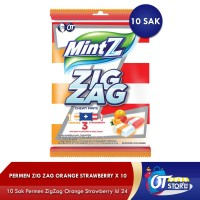 PERMEN ZIG ZAG ORANGE STRAWBERRY 10 SAK/LZ-5441/5573