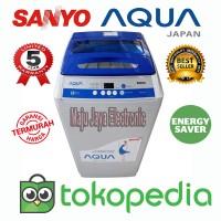 Mesin Cuci 1 tabung Sanyo Aqua 89SB 8KG