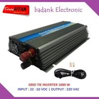Solar PV Inverter ON GRID TIE 1000W, Solar Panel Surya / PLTS
