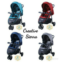 KERETA DORONG BAYI BABY STROLLER CREATIVE PLIKO SIERRA 675