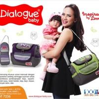 Jual Dialogue Baby Tas Sedang Perlengkapan Bayi Owl Series DGT-7236 Murah