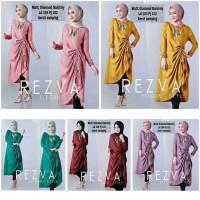 Harga rezva tunik fashion muslim tunik murah blouse muslim gamis | WIKIPRICE INDONESIA
