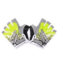 Harga promo star sarung tangan sepeda half finger gloves gel | antitipu.com