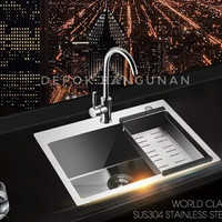 KITCHEN SINK BOLZANO DAPUR 6045
