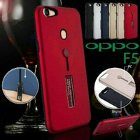 Case Oppo F5 Hardcase Ring Stand Luxury Capa Armor Casing Case Hp