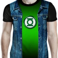 kaos 3d anime superhero GREEN LANTERN JACKET - 33