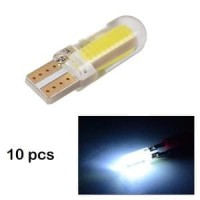 MA1115 Lampu Sen Senja Mobil Motor 10pcs T10 Car Bulbs LED SMD COB W
