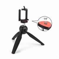 Mini Tripod Yunteng YT 228 Untuk Handphone Kamera Tongsis Free Holde