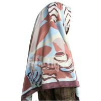 Jilbab Bahan Maxmara - Kode BB / Hijab Panel / Kerudung Satin Silk