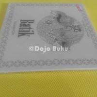 TERBARU BATIK ( Anti Stress Art Therapy ) Coloring Book for Adults