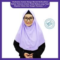 BEST SELLER Jilbab Instan / Kerudung Instan / Pashmina Instan Lavender