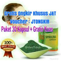 Masker Wajah Spirulina Tiens / Herbal / Obat Jerawat / Memutihkan